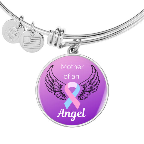 Mother of an Angel Charm Bracelet