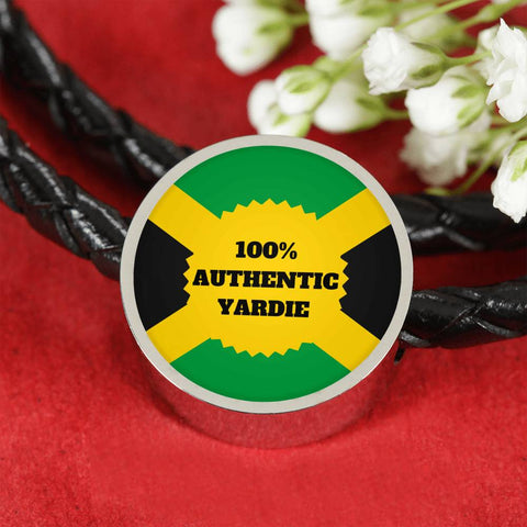 Authentic Yardie Leather Bracelet