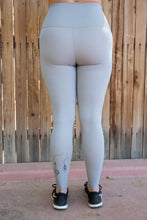 Leggings | s.e.d Paintbrush (Gray & Black)