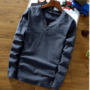 Henley Neck Sweater MEN'S STUFF