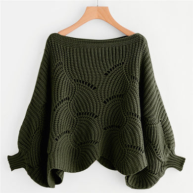 Batwing Sleeve Sweater NEW