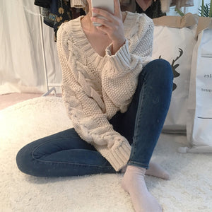 Cable Knit Sweater NEW