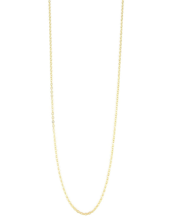 Goldplated silver anchor chain necklace - Dige Designs