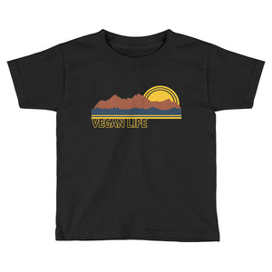 """Vegan Outdoors"" - Youth Short Sleeve T-Shirt"