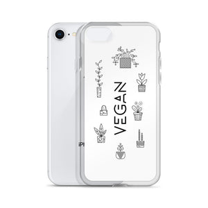 """Vegan Plant Lovers"" - iPhone Case"