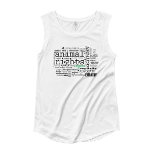 """Animal Rights"" - Women's Tank Top"
