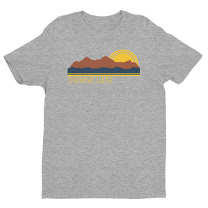 """Outdoors Vegan"" - Men's/Unisex Relaxed Fit T-Shirt"