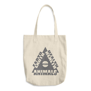 Cotton Tote Bag - Vegan for the...