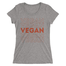 """Repeat Vegan"" - Women's Fitted T-Shirt"