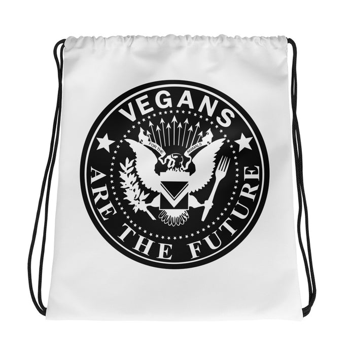 Drawstring Bag - Vegan Rocker