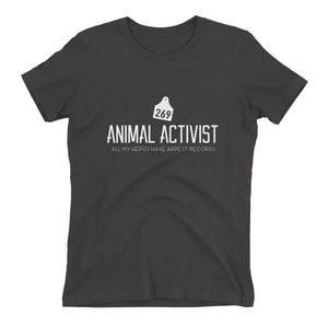 """Animal Activist"" - Women's Relaxed Favorite T-Shirt"