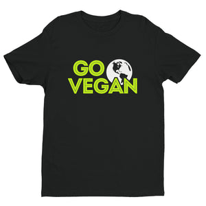 """Go Vegan"" - Men's/Unisex Relaxed Fit T-Shirt"