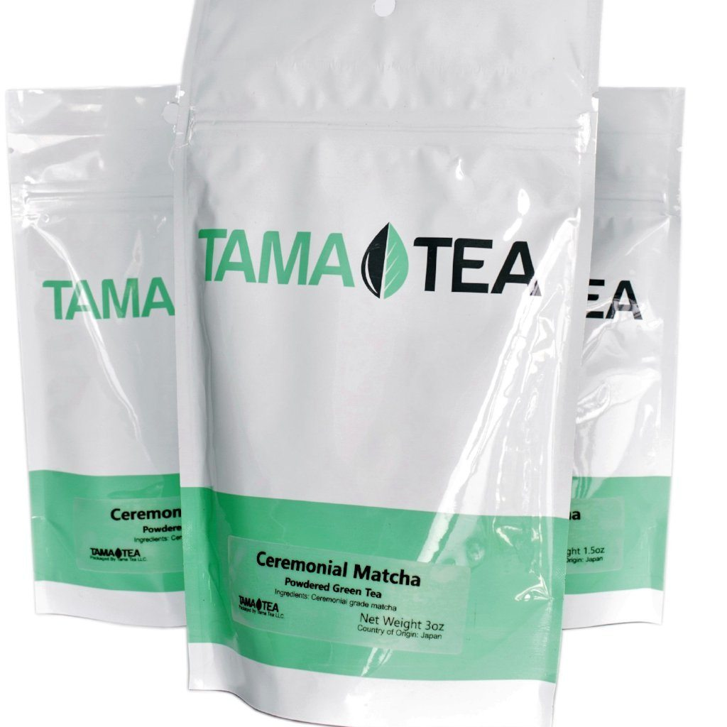 Tama Tea Matcha Green Powder by Tama-Tea. From Uji Region of Japan. Organic, Vegan & Gluten Free Super-Food. Great for Smoothies, Lattes, Recipes & Weight Loss. JAS Organic Certified Green Tea