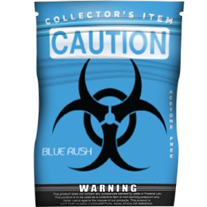 Caution Blue Rush - Platinum
