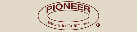 Pioneer Made in California Logo