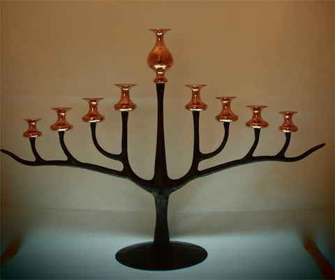 Hand Made Menorah