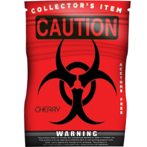 Caution Cherry - Platinum