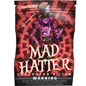 Mad Hatter Strawberry - Golden