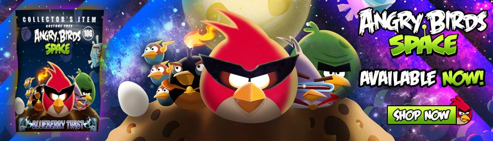 Angry Birds Space Herbal Incense