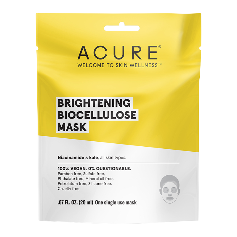 Brilliantly Brightening Biocellulose Mask