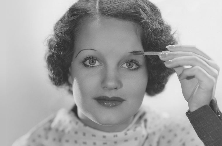 Brow Trends Through The Ages Shine Cosmetics