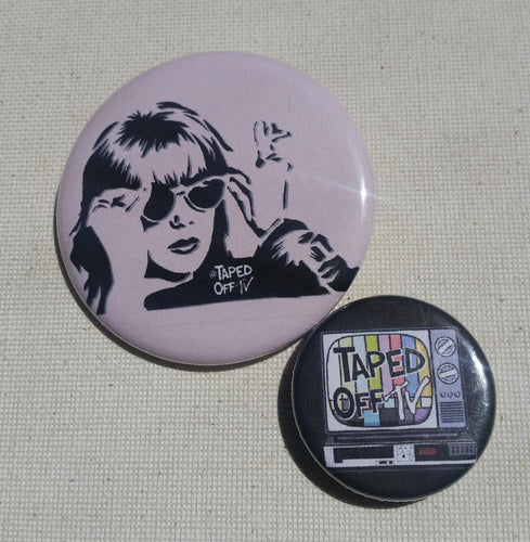 Don't Tell Mom the Babysitter's Dead Sue Ellen Crandell Christina Applegate 90s movie pin pinback button badge stencil street art taped off tv Taped Off TV @tapedofftv @tapedofftv