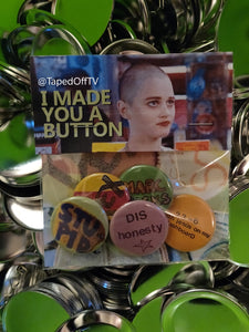 Empire Records Deb Debra pin pack by Taped Off TV @TapedOffTV #tapedofftv Rex Manning Day pins button buttons badge badges #rexmanningday