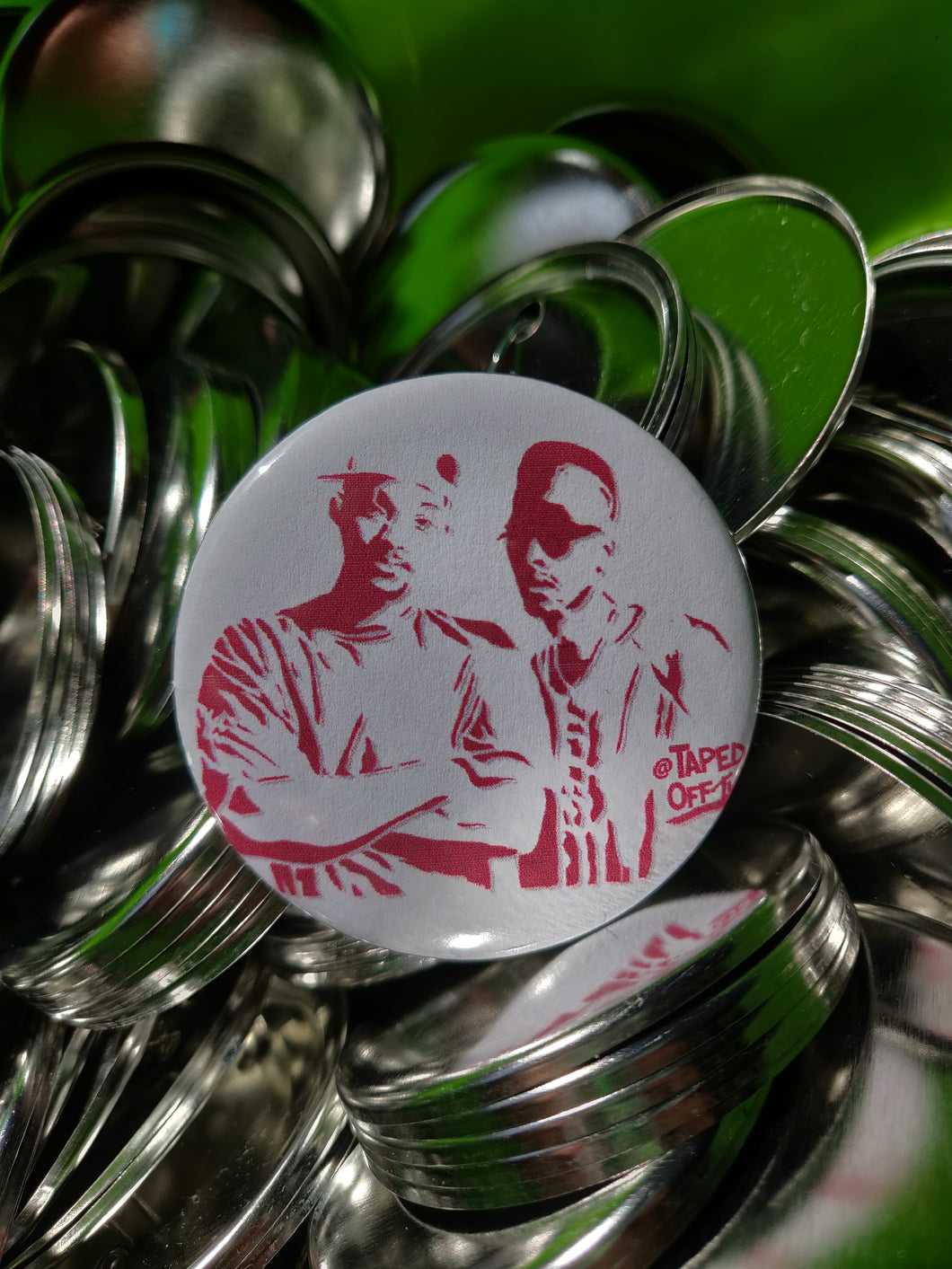 DJ Jazzy Jeff & the Fresh Prince pin