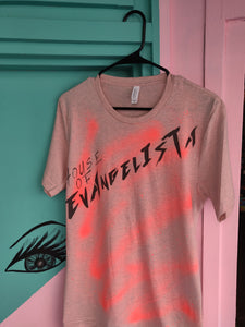 House of Evangelista spray painted T-Shirt