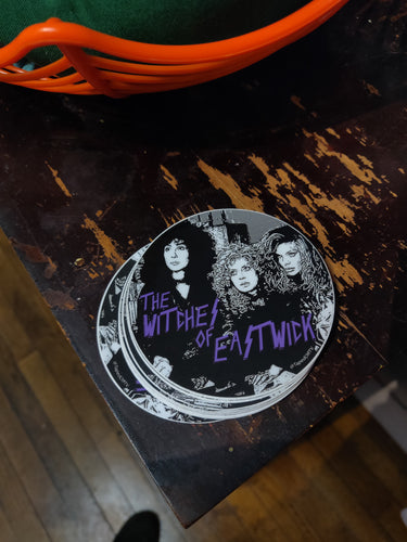 The Witches of Eastwick STICKER