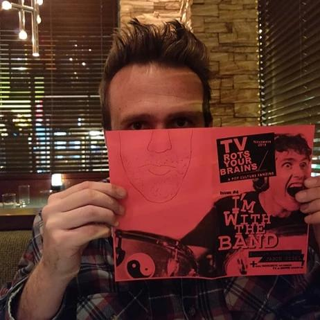 TV Rots Your Brains zine issue #4 Interview w/ Jason Segel!