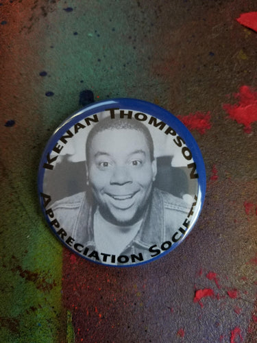 Kenan Keenan Thompson pin pinback button badge Nickelodeon All That Kenan & Kel Good Burger goodburger SNL