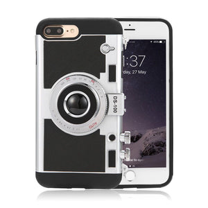 Camera Design Case For iPhone