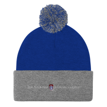 NJC Embroidered Sportsman SP15 Pom Pom Knit Cap