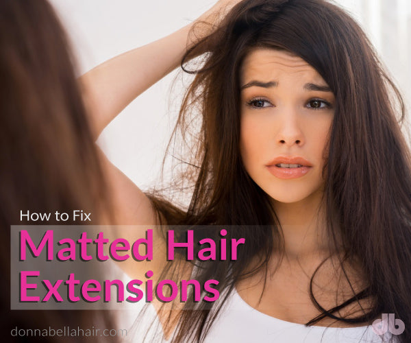 Tape in extensions matting