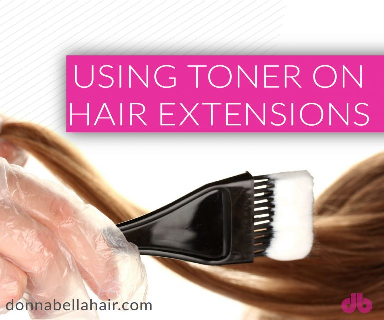 Using Toner On Hair Extensions Donna Bella Hair Hair Extensions