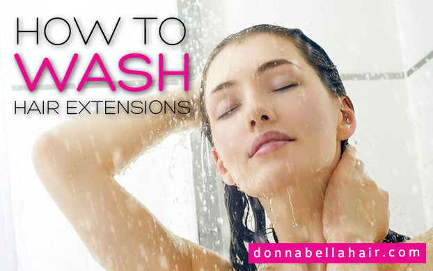 washing your hair extensions donna bella hair hair extensions