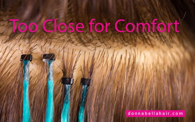 Customer Reviews For Dream Catchers Hair Extensions Too Close for Comfort Donna Bella Hair Hair Extensions Blog 36