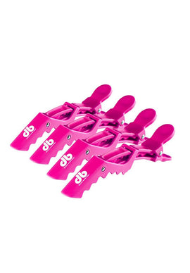 Hair Clips - Pink