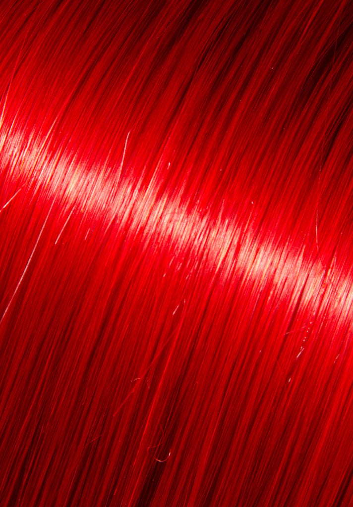 Synthetic Single Clip-In - Red