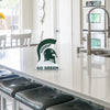 Michigan State Spartan Helmet Table Top Display