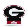 Georgia Bulldogs Dawg House Double Sided Table Top Display
