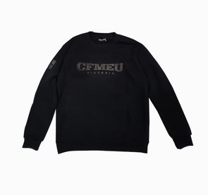 Basic Black on Black - Crew W/C