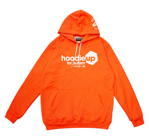 Hoodie up for Amaze 2020 - HV Orange