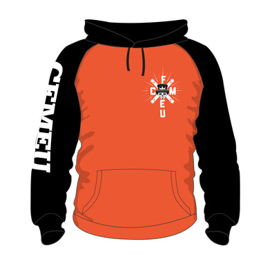 Made to Order - Alphington Pullover Hoodie - HV Orange