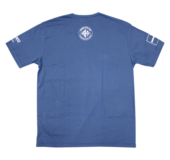 Staple Basic Tee - Steel Blue