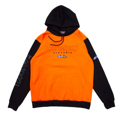 CFMEU Basic Flag Hoodie - HV Orange