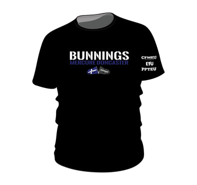 Made to Order - Bunnings Mercure Tee - Black