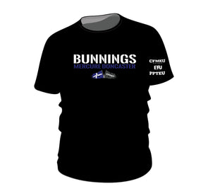 Made to Order - Bunnings Mercure Tee - Black (270520)