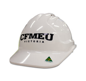 CFMEU HARD HAT - WHITE